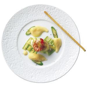 洋食器 皿 コーラル 27cm ディナープレート(白/特白磁)|oi-con