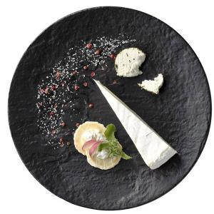 洋食器 皿 ディナープレート メテオ 27cm ブラック|oi-con