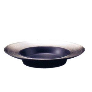 スーププレート ディモーダ 28cm   プラチナ/ブラック|oi-con