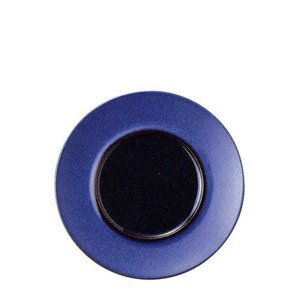 丸皿 スウィーツパレット 21cm プレート ブルー|oi-con
