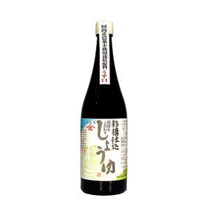 頑固なこだわり しょうゆ ヤマヒサ杉樽仕込醤油 うす口 720ml oi-con
