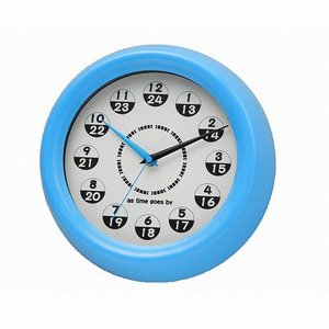 壁時計  Judy BL ジュディ ブルー  YCK-427BL 掛時計|oibby