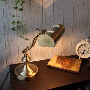 デスクライト ピアノランプ スタンド 北欧 テーブルライトアンティーク 真鍮 かわいい おしゃれ レトロ 寝室 間接照明 デスクスタンド 電気 照明 523|oibby