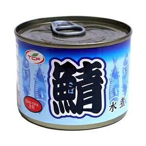 【2ケースセット送料無料】天長 鯖水煮 200g(24缶入×2ケース)|oideyaoosaka