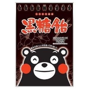 【送料無料】オークラ製菓 くまモン黒糖飴 1袋90g(10袋入×2ケース)【賞味期限:2021.08.31】|oideyaoosaka