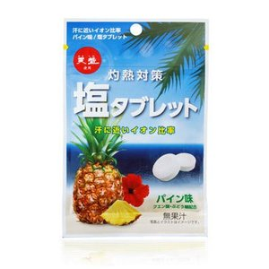 ■汗で失う「塩分」を手軽に補給できる熱中対策に最適な商品です。 ■汗に近いイオン比率で塩分のほか、ク...