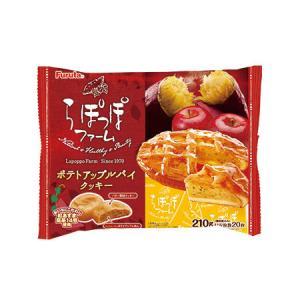 【送料無料】フルタ ポテトアップルパイ クッキー 210g(12袋入×1ケース)【賞味期限:2021.08.31】|oideyaoosaka