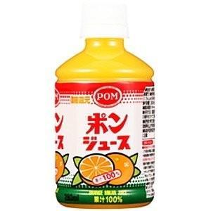 【送料無料】えひめ飲料 POM ポン ポンジュース 280mlPET(24本入×1ケース)【賞味期限:2021.06.04 】|oideyaoosaka