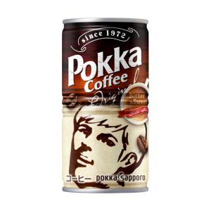 【送料無料】ポッカサッポロ ポッカコーヒー オリジナル 190g缶(30本入×1ケース)【賞味期限:2021.11.15】 oideyaoosaka