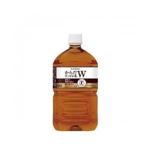 【2ケースセット送料無料】コカ・コーラ からだすこやか茶W 1050mlPET(12本入×2ケース)|oideyaoosaka