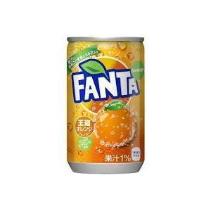 【4ケース送料無料】コカ・コーラ ファンタ オレンジ  160ml缶(30本入×4ケース)|oideyaoosaka