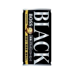 【送料無料】サントリー ボス 無糖ブラック 185g缶(30本入×1ケース)【賞味期限:2021.09.30】 oideyaoosaka