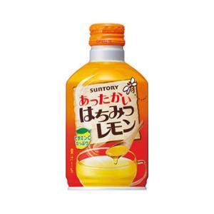 【送料無料】サントリー ホット はちみつレモン 290gボトル缶(24本入×1ケース)【賞味期限:2021.08.31】|oideyaoosaka