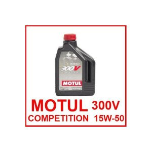 MOTUL(モチュール)エンジンオイル  300V COMPETITION 15W-50 / 15W50 2L缶(2リットル缶)