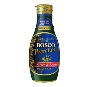 日清オイリオ 鮮度のオイル BOSCOプレミアムエキストラバージンオリーブオイル 145g
