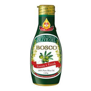 食用油 オイル オリーブオイル 日清オイリオ 鮮度のオイル BOSCOエキストラバージンオリーブオイ...