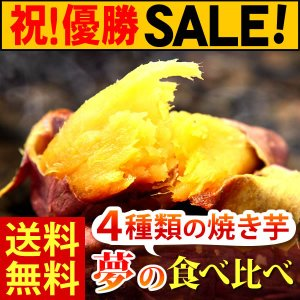 人気焼き芋 4種食べ比べ 大特価セール|oimoya
