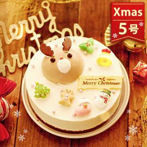 クリスマスケーキ 2019 クリスマスプレゼント トナカイ ムースケーキ 5号 2人用 クリスマスケーキ クリスマスプレゼント|oimoya