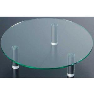 327-08 アクリル丸テーブル 20 376007520|oishii-chubou