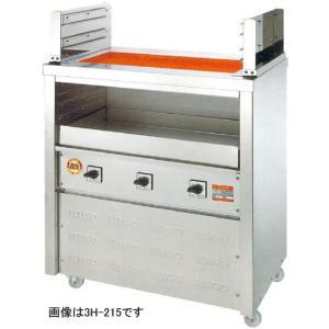 ヒゴグリラー 二刀流タイプ 床置型 幅720奥行550 3H-210|oishii-chubou