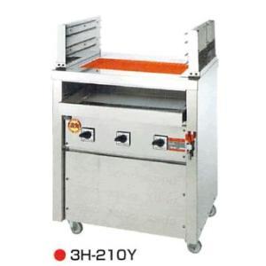 ヒゴグリラー 二刀流タイプ 床置型 幅720奥行550 3H-210Y|oishii-chubou