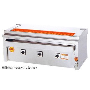 ヒゴグリラー 焼鳥専用タイプ 卓上型 幅610奥行410 3P-204KC|oishii-chubou