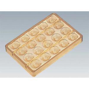 150-16 PCチョコレートモールド No.9 カブト20ヶ取 650000700|oishii-chubou