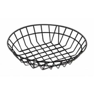 314-03 AM ブラック ワイヤーバスケット WIB120 931015310|oishii-chubou