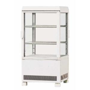 幅429 奥行445 サンデン 冷蔵ショーケース 卓上タイプ AG-60XE|oishii-chubou