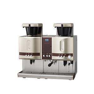 CT-151-CT-1105C コーヒーマシン エスプレッソ ドリップ1連タイプアイスユニットタイプ 幅764奥行565|oishii-chubou