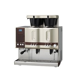 CT-251 コーヒーマシン エスプレッソ ドリップ2連タイプ エフエムアイ カフェトロン 幅664奥行565|oishii-chubou