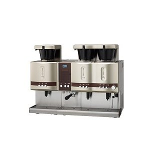 CT-251-CT-1105C コーヒーマシン エスプレッソ ドリップ2連タイプアイスユニットタイプ 幅974奥行565|oishii-chubou