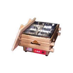 幅370 奥行470 エイシン電機 電気式おでん鍋 CVS-6D|oishii-chubou