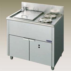 幅900 奥行600 ニチワ電機 電気ゆで麺器式 湯通しタイプ ENB-900N|oishii-chubou