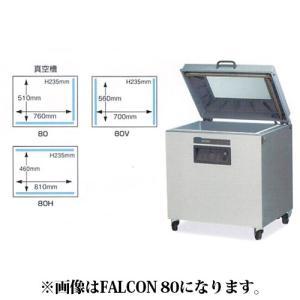 新品 幅900 奥行820 ニチワ電機 真空包装機 フロアータイプ FALCONシリーズ FALCON80V|oishii-chubou