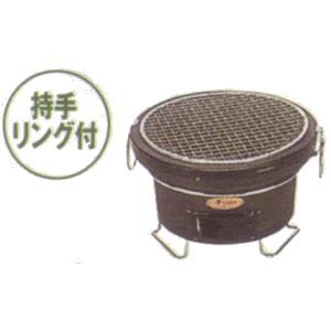 マルゼン 無煙ロースター ダクト式 珪藻土コンロ 持手リング付 KT-12|oishii-chubou