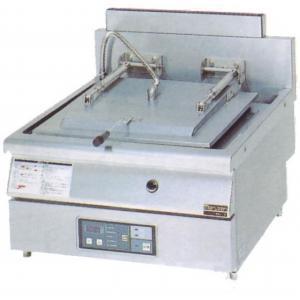幅650 奥行750 マルゼン ガス自動餃子焼器 フタ固定タイプ MAZ-10|oishii-chubou
