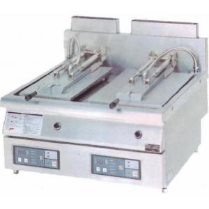 幅740 奥行750 マルゼン ガス自動餃子焼器 フタ固定タイプ MAZ-46|oishii-chubou