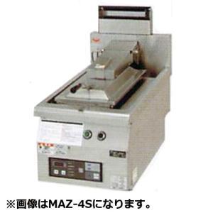 幅740 奥行750 マルゼン ガス自動餃子焼器 フタ取外しタイプ MAZ-46S|oishii-chubou