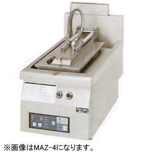 幅650 奥行750 マルゼン ガス自動餃子焼器 フタ固定タイプ MAZ-6|oishii-chubou