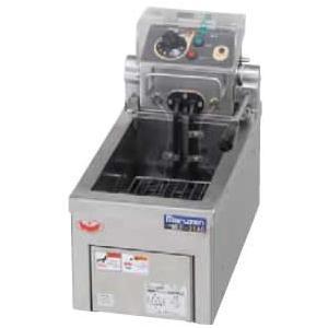 幅220 奥行400 マルゼン 電気フライヤー 卓上タイプ 1槽式 MEF-3TAE|oishii-chubou