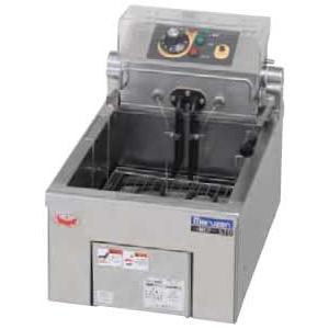 幅300 奥行420 マルゼン 電気フライヤー 卓上タイプ 1槽式 MEF-5TAE|oishii-chubou