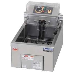 幅300 奥行420 マルゼン 電気フライヤー 卓上タイプ 1槽式 MEF-5TE|oishii-chubou