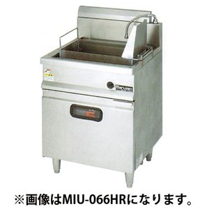 MIU-046HL IHうどん釜 マルゼン 左側反転カゴ仕様 幅450 奥行600 oishii-chubou