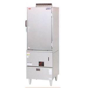 マルゼン 蒸し器 キャビネットタイプ ガス式 軟水器付 MUC-066D|oishii-chubou