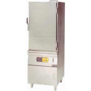 マルゼン 蒸し器 キャビネットタイプ 電気式 軟水器付 MUCE-066|oishii-chubou