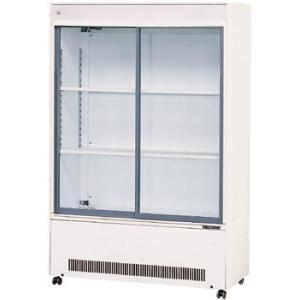 日本酒貯蔵にオススメ 幅980 奥行400 容量290L サンデン 冷蔵ショーケース キュービック超薄型 MUS-152XE|oishii-chubou
