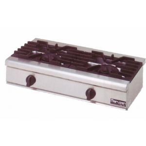 マルゼン NEWパワークックシリーズ ガステーブルコンロ RGC-094C|oishii-chubou
