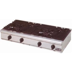マルゼン NEWパワークックシリーズ ガステーブルコンロ RGC-1264C|oishii-chubou