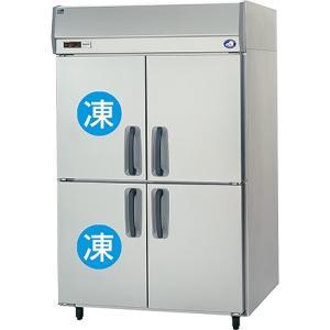 幅1200*奥行650 容量806L パナソニック 冷凍冷蔵庫 2室冷凍タイプ SRR-K1261C2|oishii-chubou